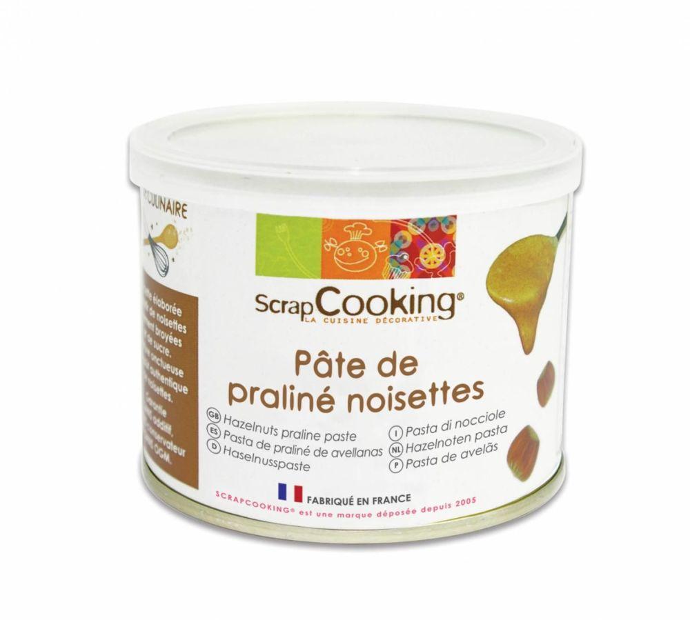 Scrap Cooking: hazelnuts paste 200 g TVA 5.5%. MOQ 6 Units @ £10.19 per unit 4510