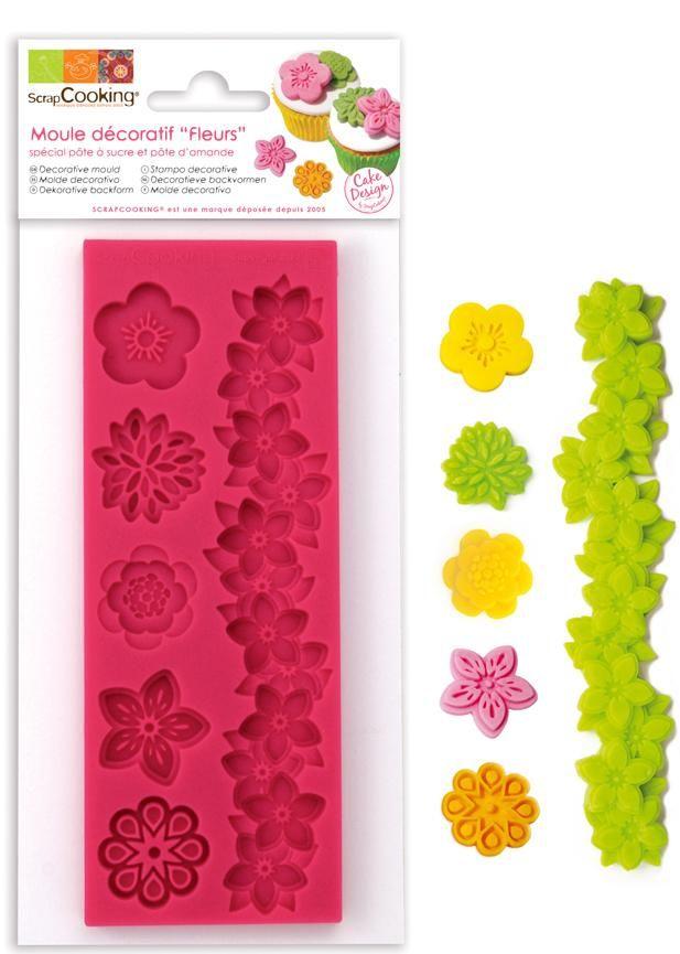 "Scrap Cooking: ScrapCooking® mould for sugar paste ""flowers"". MOQ 6 Units @ £7.41 per unit 3435"