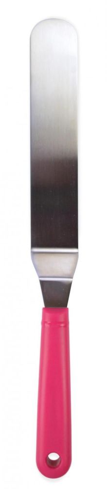 Scrap Cooking: stainless steel angled spatula 23,5 cm. MOQ 6 Units @ £5.36 per unit 5175