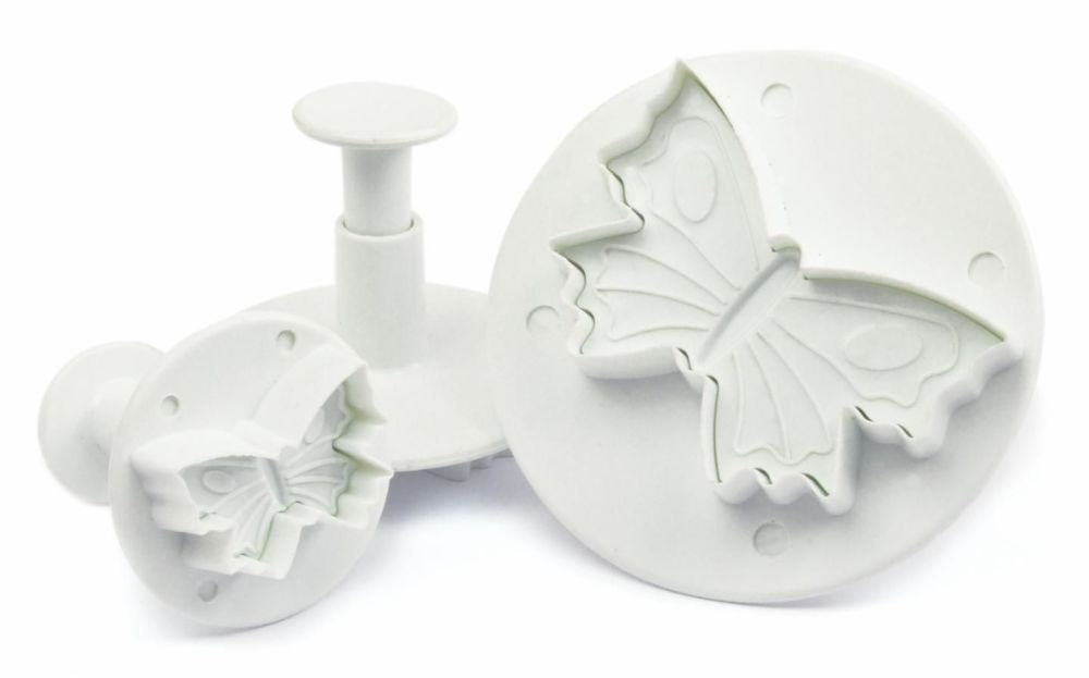 Scrap Cooking: Plunger cutter  for sugar paste butterfly . MOQ 6 Units @ £5.35 per unit 5108