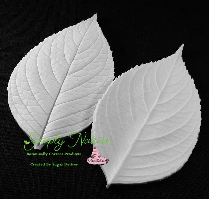 Authentic Veiners and Cutters Hydrangea Leaf XL