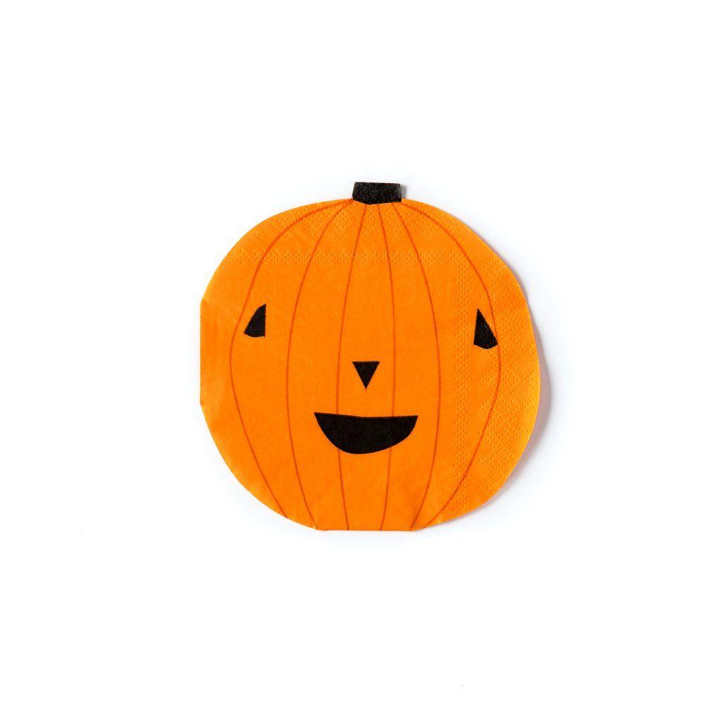My Mind's Eye Halloween Pumpkin Napkin. 3 Units.