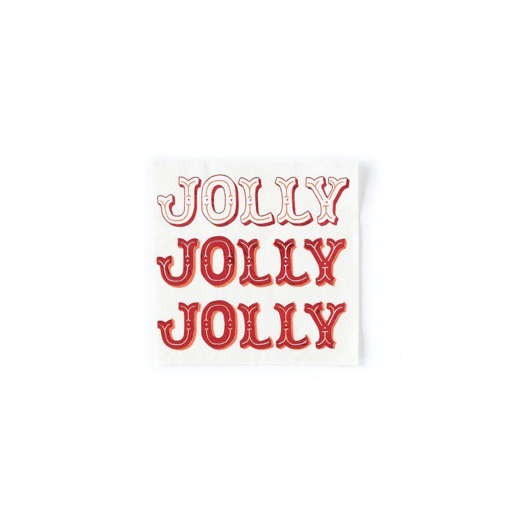 My Mind's Eye Holiday Jolly Napkin. 3 Units.