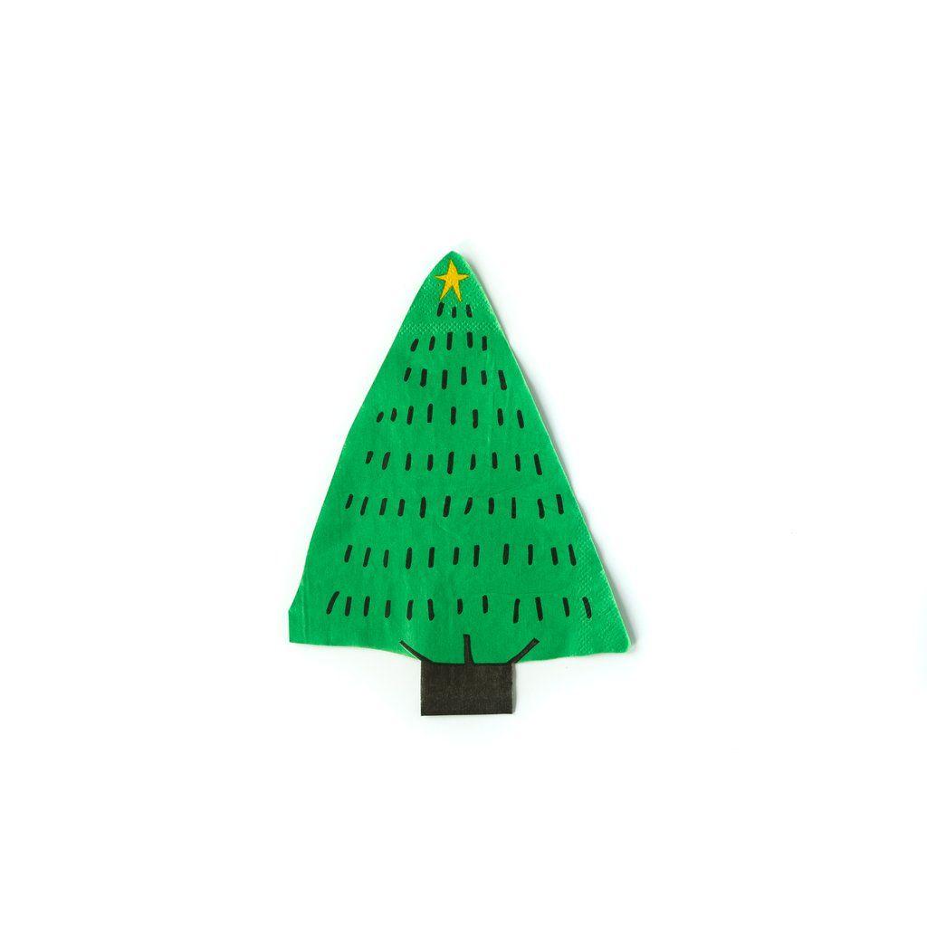 My Mind's Eye Holiday Tree Napkin. 3 Units.