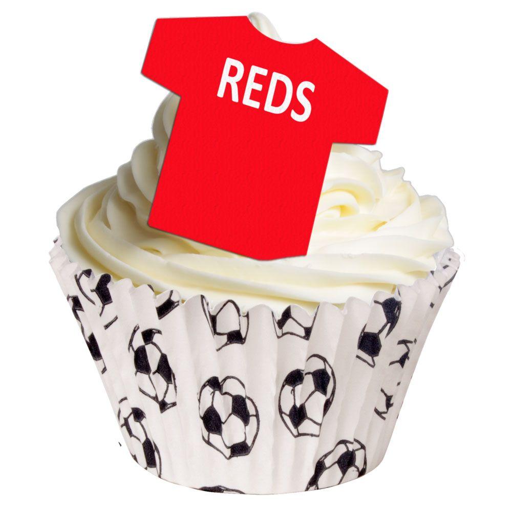 Edible Football Shirts - Reds