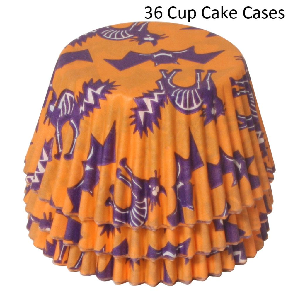 Halloween Cup Cake Cases