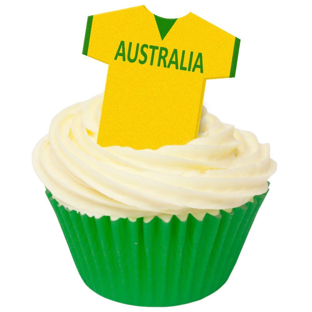 CDA Wafer Paper Pack of 12 Australia Football Shirts