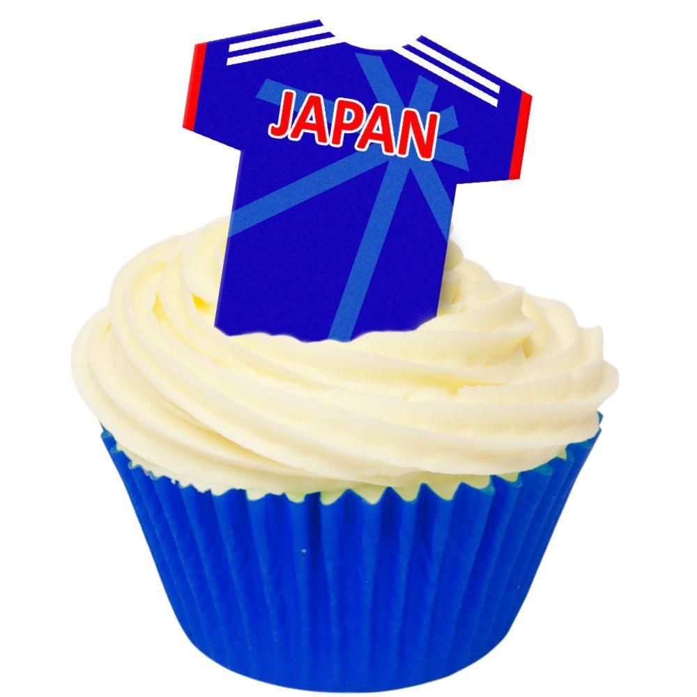 CDA Wafer Paper Pack of 12 Japan Football Shirts