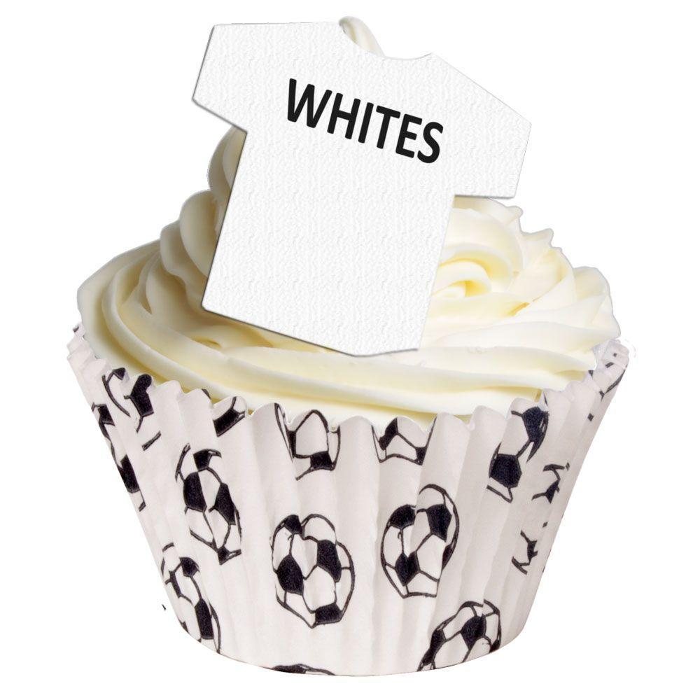 Edible Football Shirts - Whites