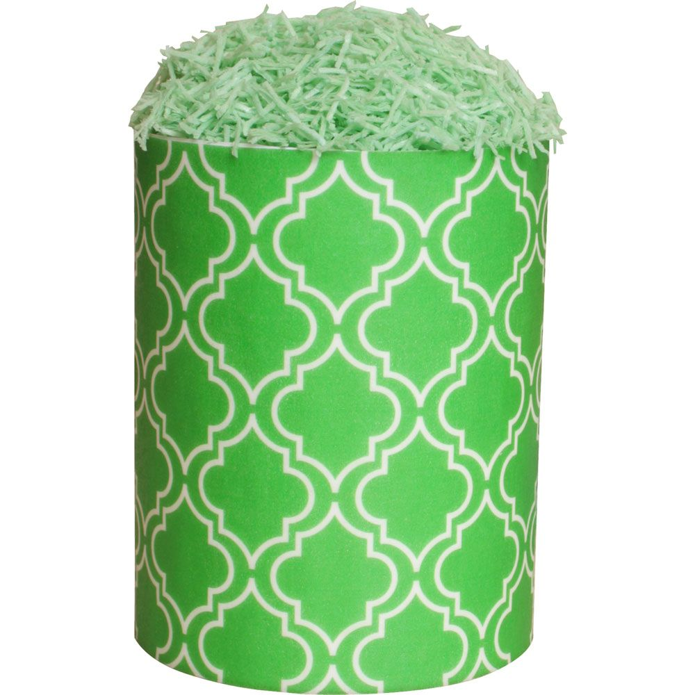 Patterned Paper(A4) - Moroccan - Lime Green, Pack of 6.