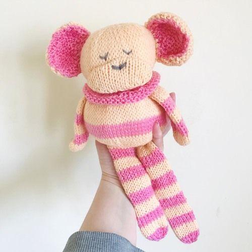 Gift Horse Kits: NEW! Chunky Monkey Knitting Kit