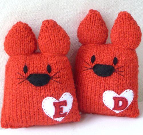 Gift Horse: Love Kats Knit Kit