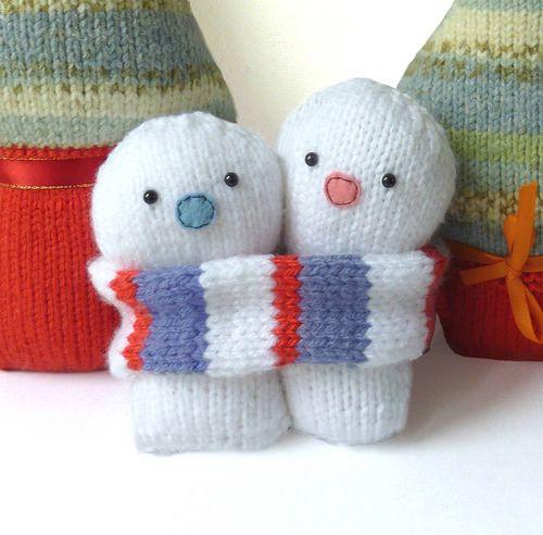 Gift Horse Kits: Everlasting Snowmen Knit Kit