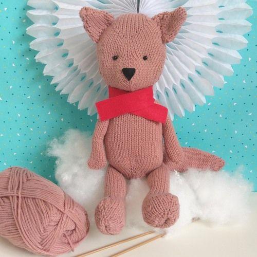 Gift Horse Kits: Rufus the Fox Knitting Kit