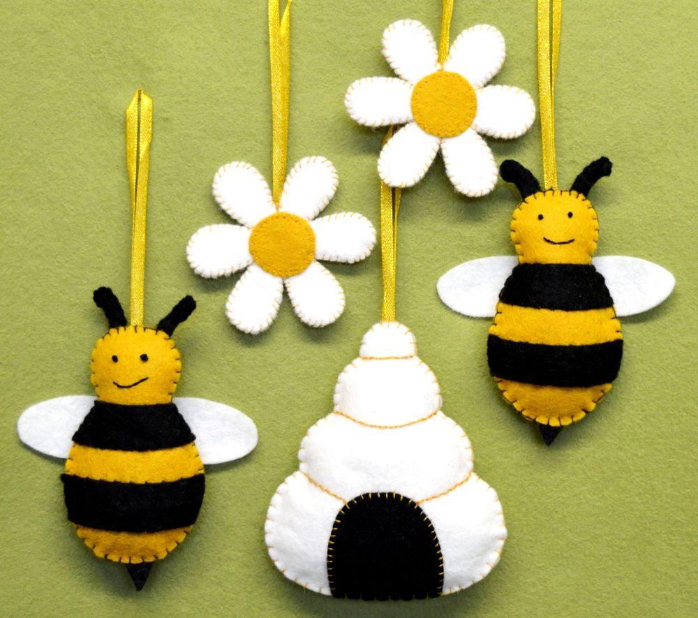Corinne Lapierre: Bees, Hive & Flowers