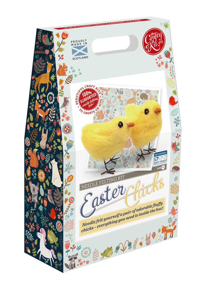 Crafty Kit Company Needle Felting Kits