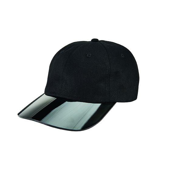 CTH2702OSBLK- Cotton twill ball cap: Black