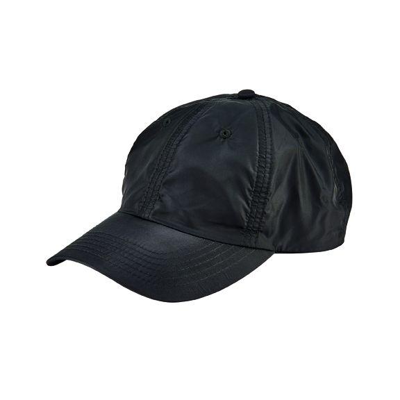 CTH2704OSBLK- Windbreaker ball cap: Black