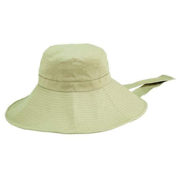 CTH2705OSTAN- Cotton twill garden hat: Tan