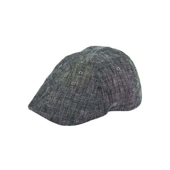 CTH9030SMGRY- Cut & sew fitted driver: Grey