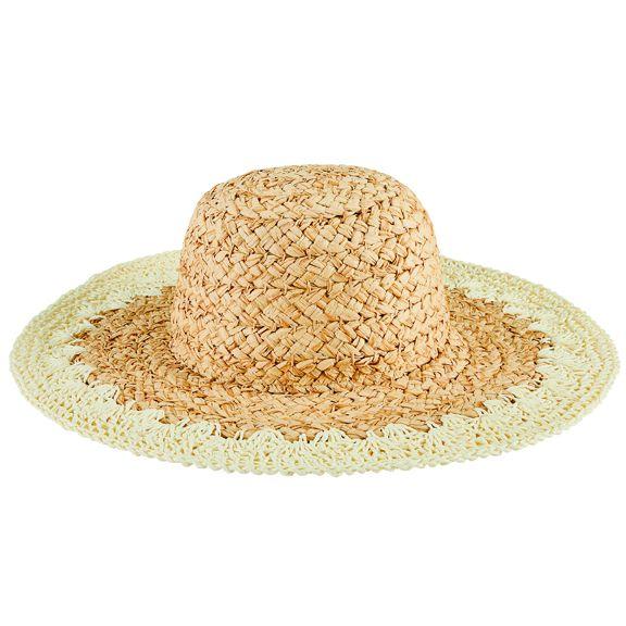 PBL3203OSIVR- Paper straw hat: Ivory