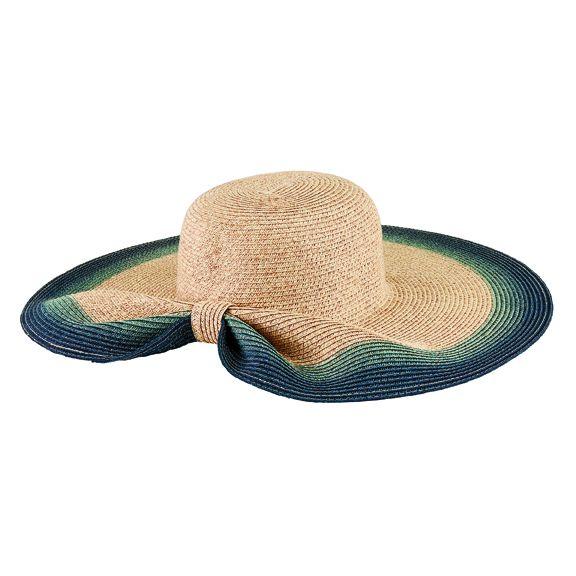 UBL6822OSDNM- Ultrabraid sun hat: Denim