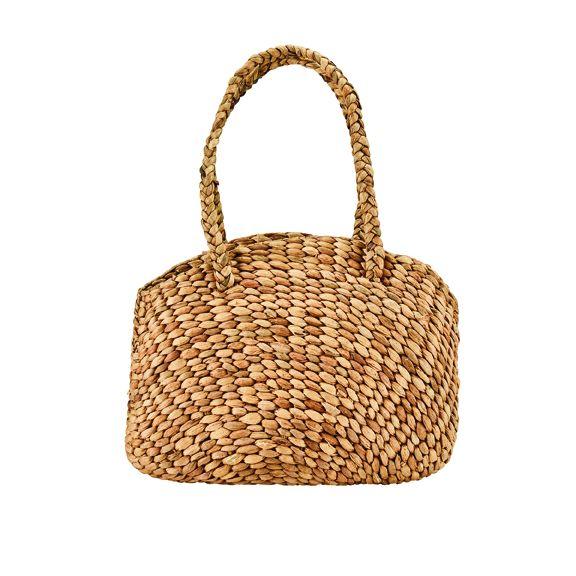 BSB3705OSNAT- Water hyacinth bag: Natural