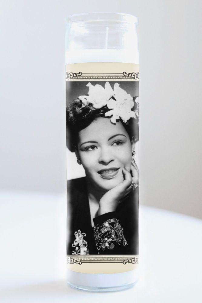 Illuminidol Celebrity Prayer Candle: BILLIE HOLIDAY