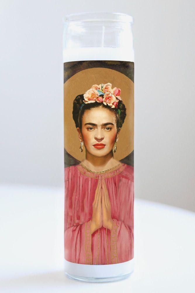 Illuminidol Celebrity Prayer Candle: FRIDA KAHLO