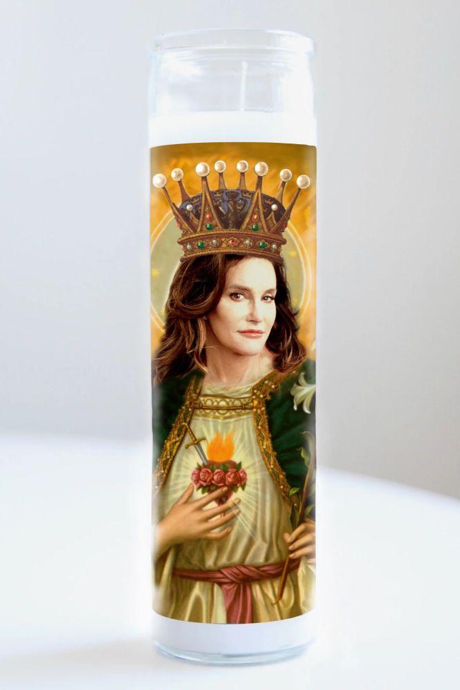 Illuminidol Celebrity Prayer Candle: CAITLYN JENNER