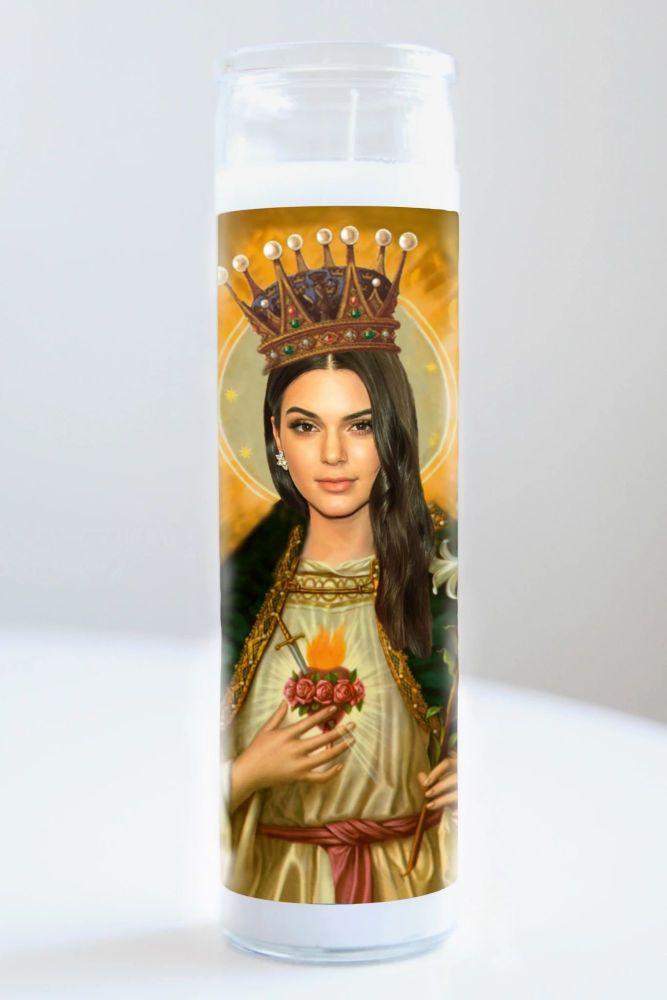 Illuminidol Celebrity Prayer Candle: KENDALL JENNER