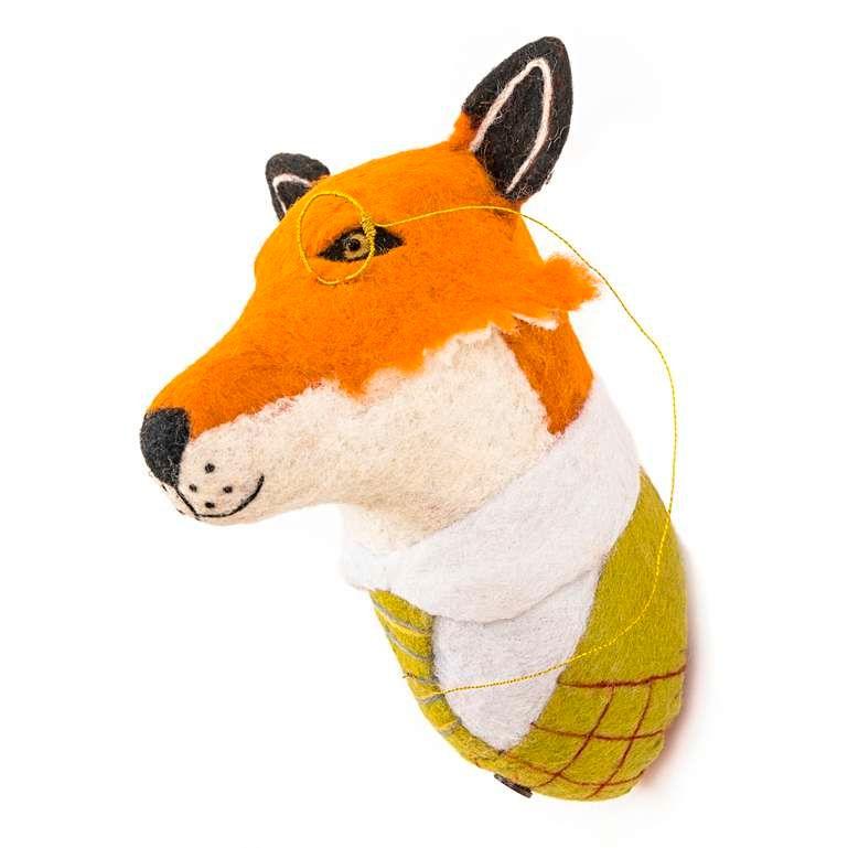 Sew Heart Felt: Sir Finlay Fox Head
