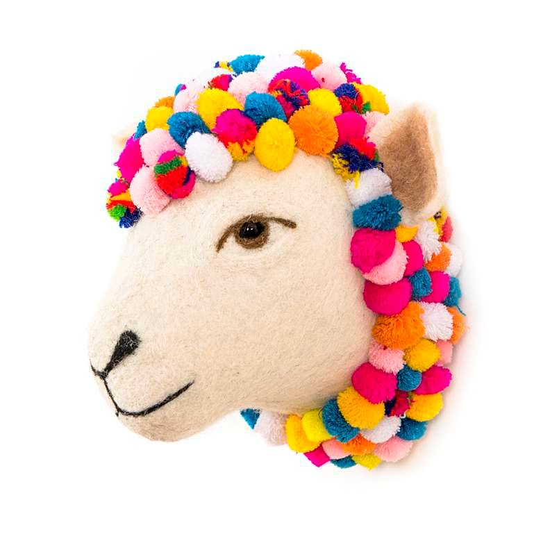 Sew Heart Felt: Jazzy Sheep Head