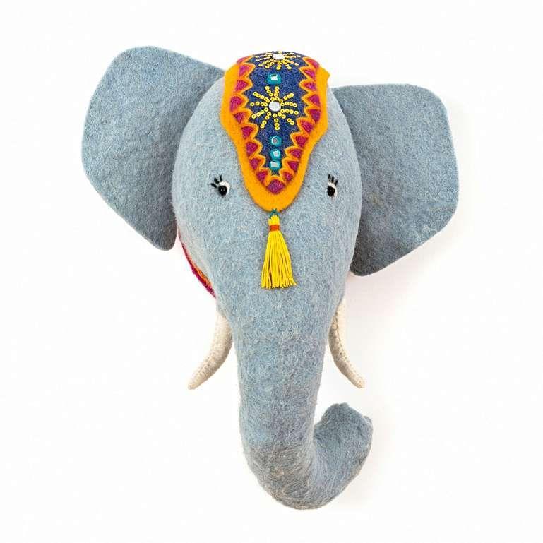 Sew Heart Felt: Jumbo the Elephant Head