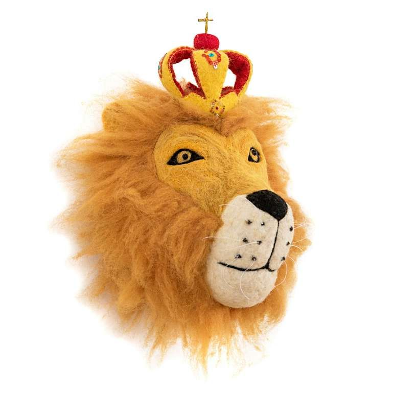 Sew Heart Felt: Prince Leopold the Lion head