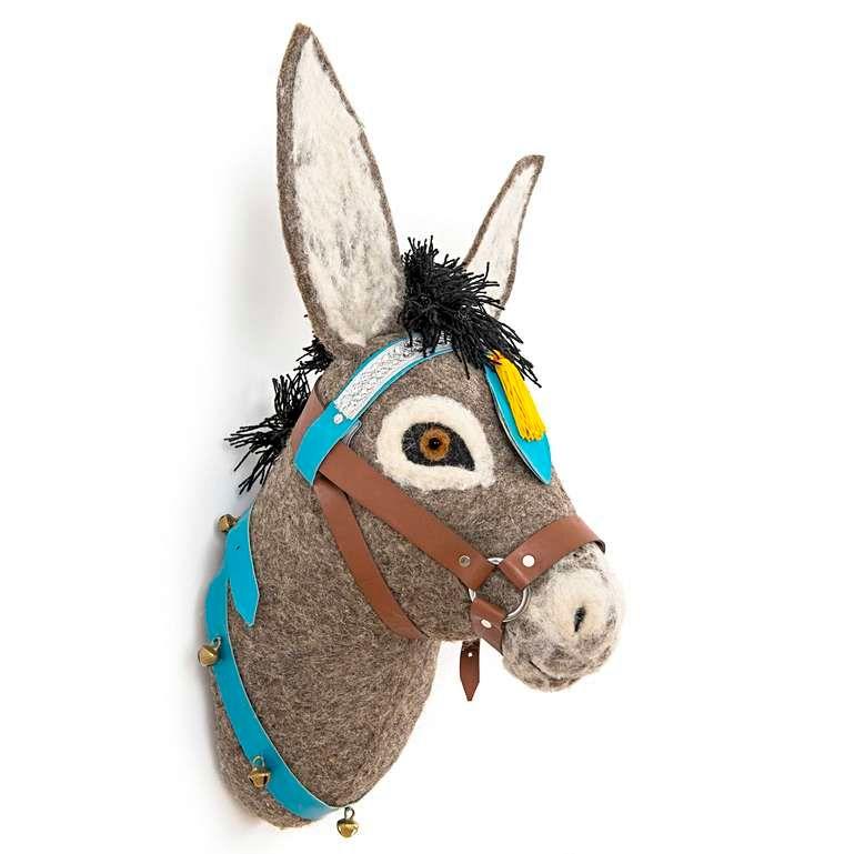 Sew Heart Felt: Violet Donkey Head