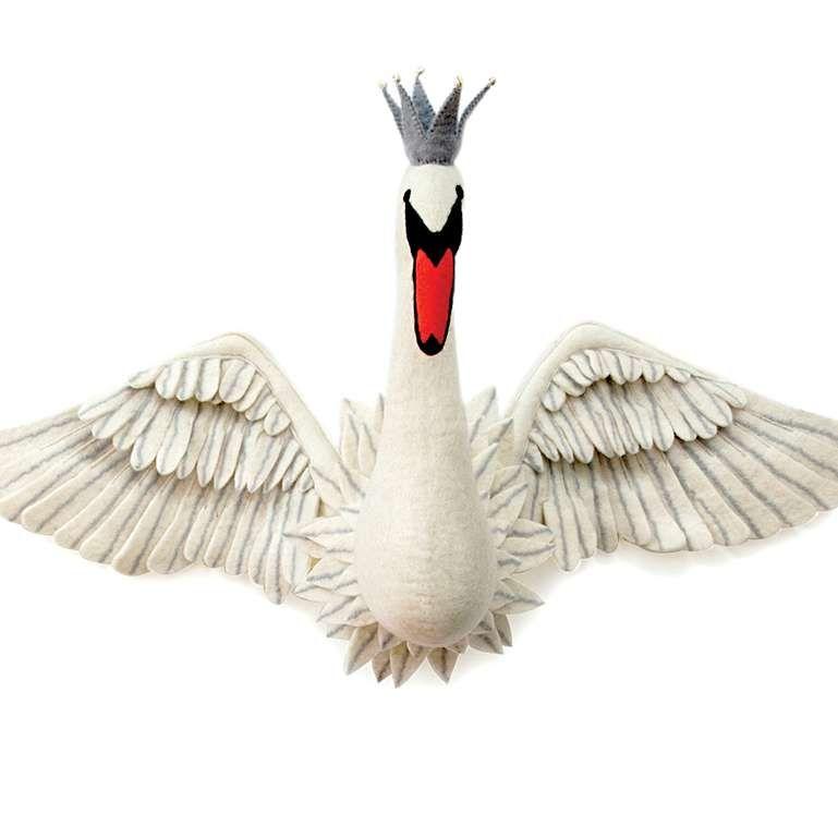 Sew Heart Felt: Odette Swan Head with Wings