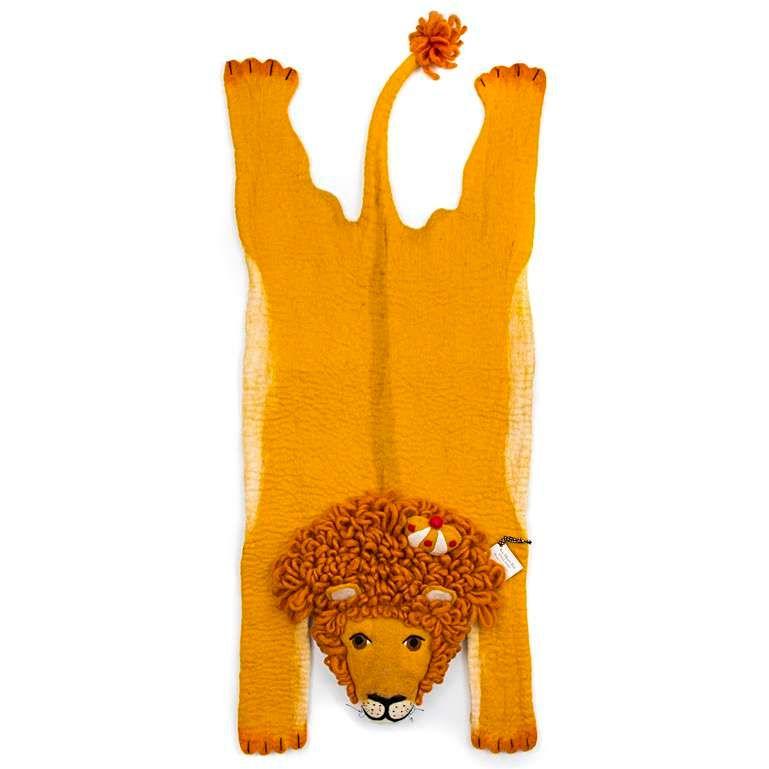 Sew Heart Felt: Leopold the Lion Rug