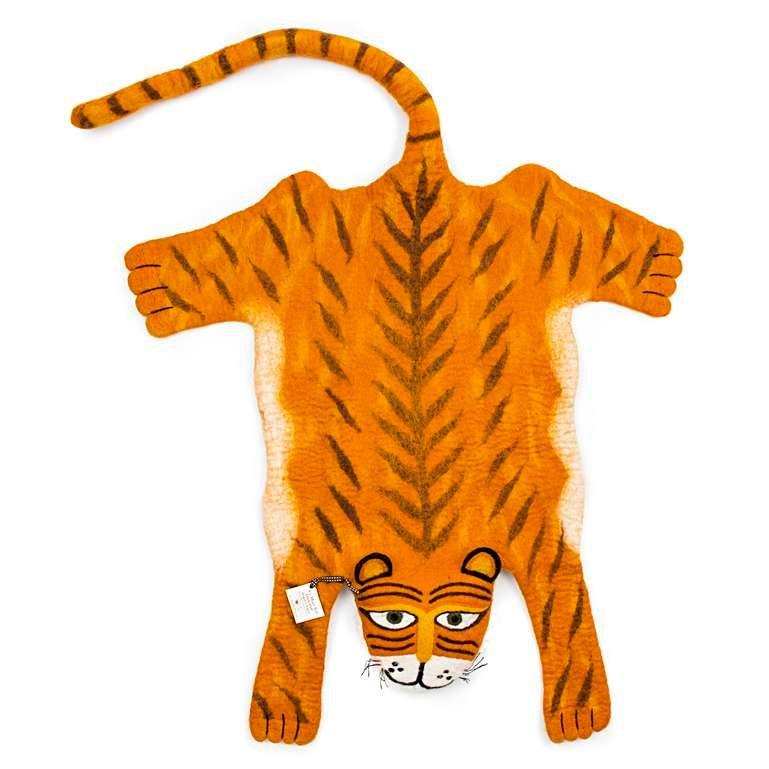 Sew Heart Felt: Raj the Tiger Rug
