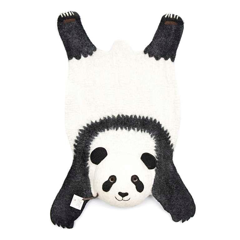 Sew Heart Felt: Ping the Panda Rug