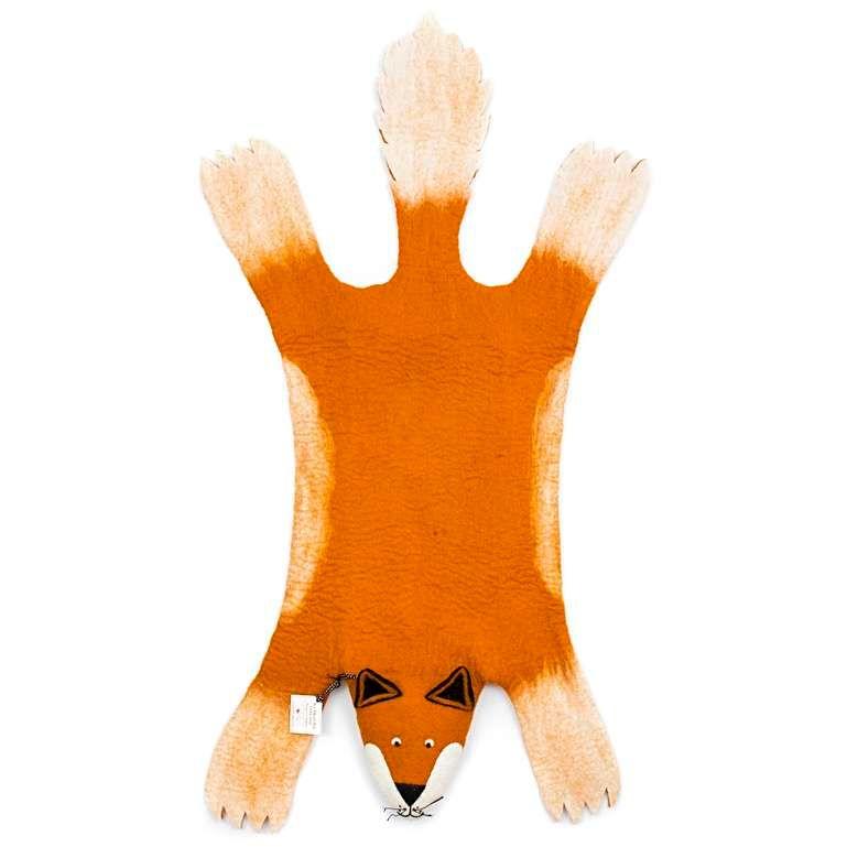 Sew Heart Felt: Fox Rug