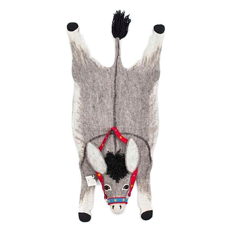 Sew Heart Felt: Violet Donkey Rug