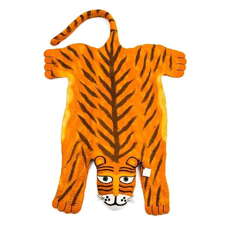 Sew Heart Felt: Super Sized Raj the Tiger Rug