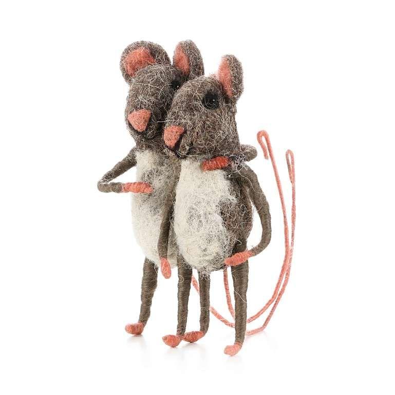 Sew Heart Felt: Best of Friends Felt Mice