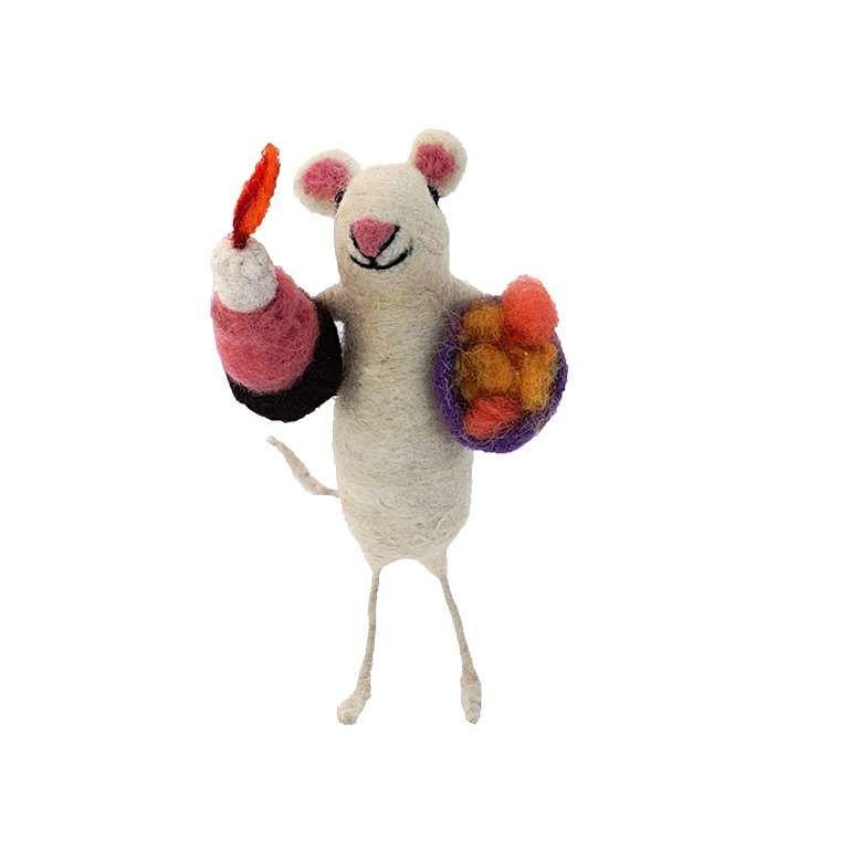 Sew Heart Felt: Birthday Felt Mouse