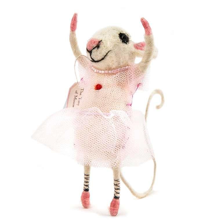 Sew Heart Felt: Beautiful Ballet Dancer Felt Mouse