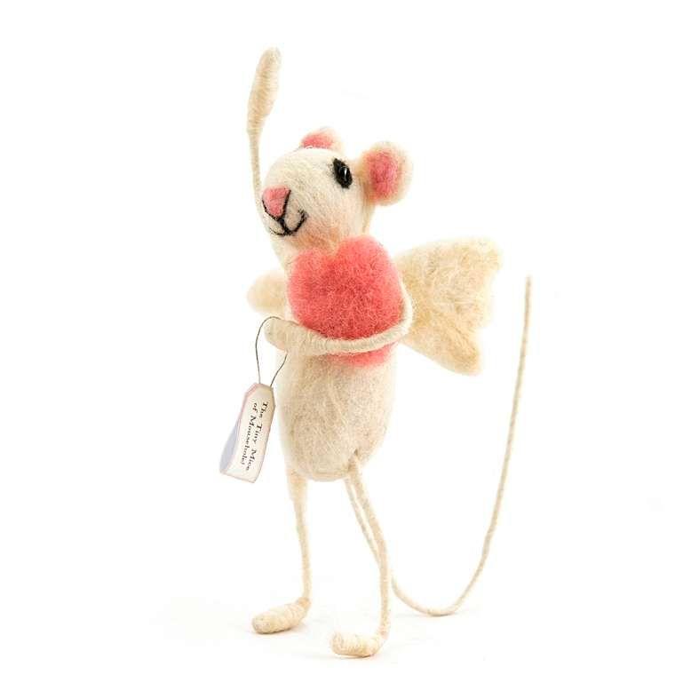 Sew Heart Felt: Cupid Felt Mouse
