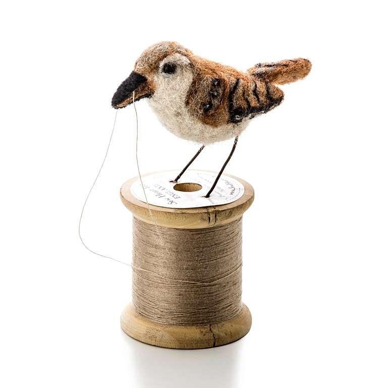 Sew Heart Felt: Wren Bird on a Bobbin
