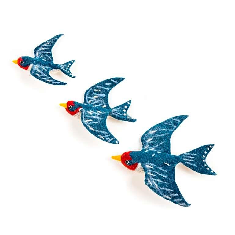 Sew Heart Felt: Flying Swallow Trio