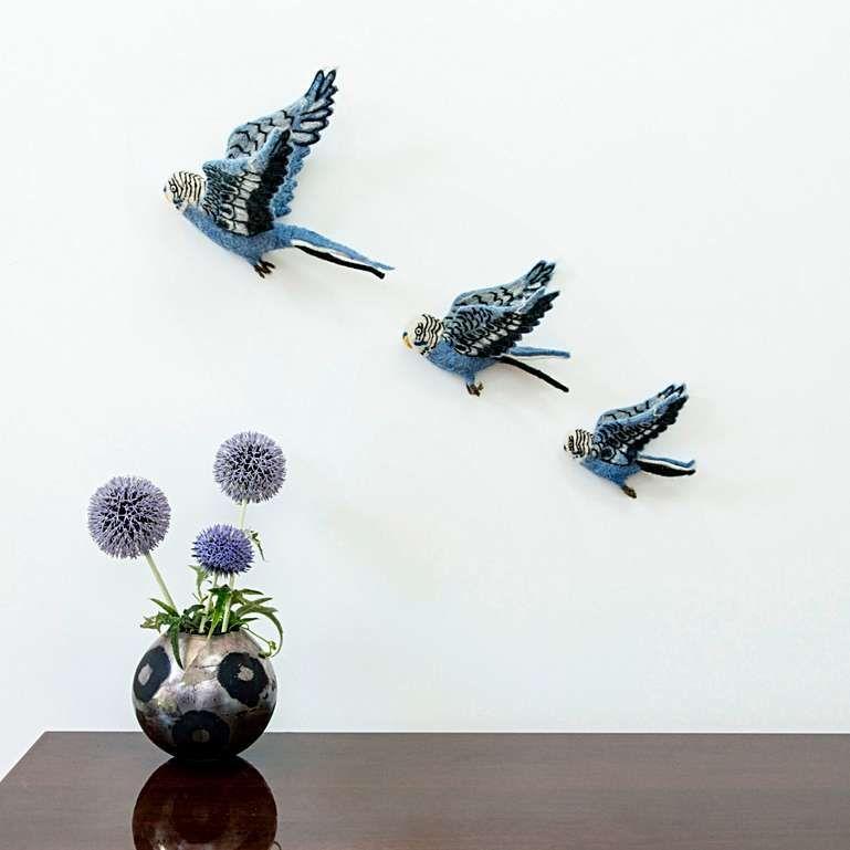 Sew Heart Felt Flying Bird Trio